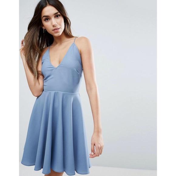 30eb3c67b4cc1 ASOS Curve Dresses   Skirts - NWT ASOS Plunge Strap Back Mini Dress